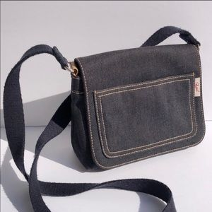 Fossil Classic 1954 Denim Canvas Crossbody Bag